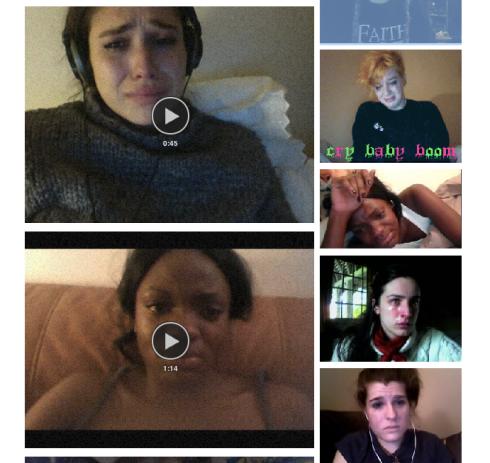 Webcam Tears Screenshot